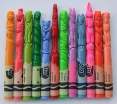 46 Best Crayons Images In 2014 Pencil Carving Sculptures Pencil Art