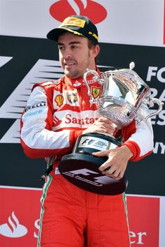 2013 Spanish GP Winner Alonso