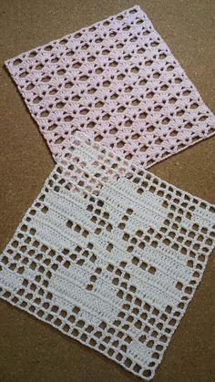 Crochet dress girl diagram New Ideas Free Crochet Doily Patterns, Crochet Symbols, Crochet Blocks, Crochet Squares, Crochet Motif, Crochet Designs, Crochet Doilies, Crochet Lace, Crochet Stitches