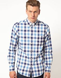 Discover the latest fashion and trends in menswear and womenswear at ASOS. Shop this season's collection of clothes, accessories, beauty and more. Gingham Shirt, Ben Sherman, Cool Walls, Asos Online Shopping, Latest Fashion Clothes, Oxford, Women Wear, Men Casual, Mens Tops
