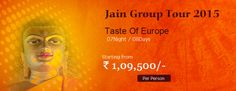 Book 07 Night / 08 Days Taste of Europe Group Tours 2015 at Just Rs. 1, 09,500/- only.