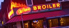 St. Clair Broiler, St. Paul, MN.  Home to writers and a good place to get a decent burger.