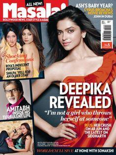 Deepika Padukone, Masala! Magazine [India] (28 October 2010)