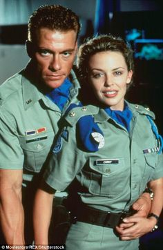Kylie even appeared in the 1994 film Street Fighter (pictured)...