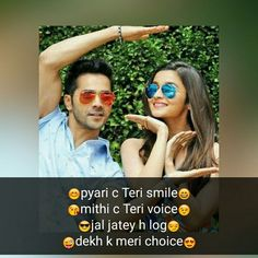 Best Latest Tareef Shayari For Girl With WhatsApp Status Dp Crazy Girl Quotes, Attitude Quotes For Girls, Funny Girl Quotes, Cute Couple Quotes, Bff Quotes, Cute Love Quotes, Girly Quotes, Crazy Girls, Romantic Love Quotes