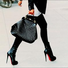 Christian Louboutin Bag and heels
