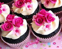 Wedding Cupcakes - tortas redondas de la boda