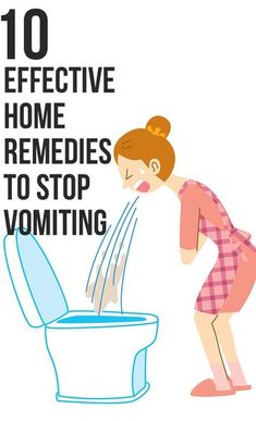 Here are the top 10 home remedies to stop vomiting that are time-tested and can prove to be a lifesaver. so to say. when the vomiting bug strikes you.