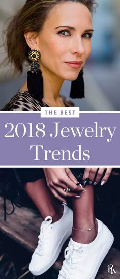 Here, our five favorite jewelry trends for 2018. #jewelrytrends #jewelry #2018trends