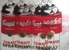 Mr. Brainwash, Tomato Spray Can Campbell's Soup