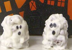 Ghostly Cereal Treats