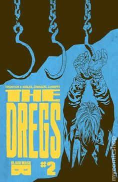 The Dregs (2017) 2Black Mask Comics Modern Age comic book covers indy independent obsure