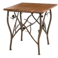 Pine Side Table - Stone County Ironworks