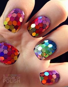 adifferentshade nail nails nailart