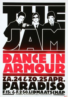 1982 The Jam & Dance In Armour @ Paradiso