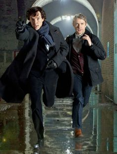 Sherlock Series 1 Promotional Photos | cumberbatchweb. One of my favourite ones.