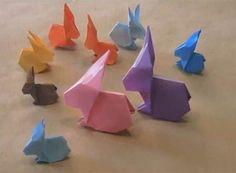 Origami rabbit video