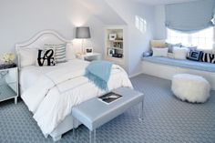 Love color for teen room