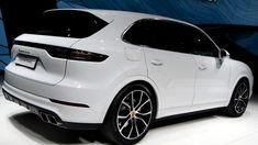 2019 Porsche Cayenne Turbo white at Frankfurt ☻ Rear Porche Cayenne, Porsche Cayenne Gts, Cayenne Turbo, Porsche 2018, Used Porsche, Porsche Cars, Porsche Macan Turbo, Sports Cars Lamborghini, Cars