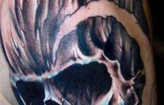 Harley Davidson Skull Tattoos