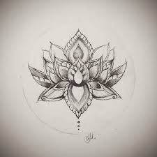 Image result for lotus mandala tattoo