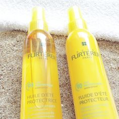 Huile ou fluide  d'été protectrice très haute protection KPF 90 de #renefurterer Waterproof  Protection de 90% de la kératine du cheveu. A base d'huiles de sésame et de ricin, naturellement protectrices et nourrissantes   #hair #sun #summer #beach #easyparasoleil #frenchpharmacy