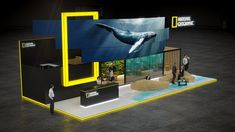National geographic exhibition stand design | | GM stand design