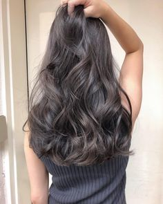 , - All For Hair Color Balayage Balayage Long Hair, Hair Color Balayage, Permed Hairstyles, Modern Hairstyles, Japanese Hairstyles, Asian Hairstyles, Wavy Hair, Dyed Hair, Medium Hair Styles