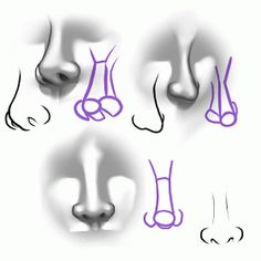 """Migz Art: Drawing 101...""""How to draw a nose"""""""