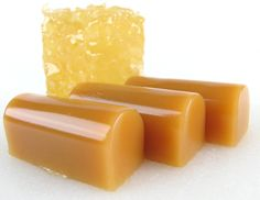 SALEHoney Vanilla Bean Caramel 12 pcs by calabasascandyco on Etsy, $7.00