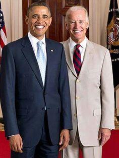 President Obama and Vice President Joe Biden. The best POTUS/Veep ever! Joe Biden, Obama And Biden, Black Presidents, Greatest Presidents, American Presidents, Presidents Usa, American History, Vladimir Putin, Bill Gates