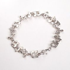Music Notes Bracelet - Silver Jewelry Style-a-thon - Events