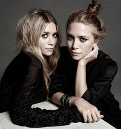 Olsen Twins - I love the bun MK is wearing !!!'