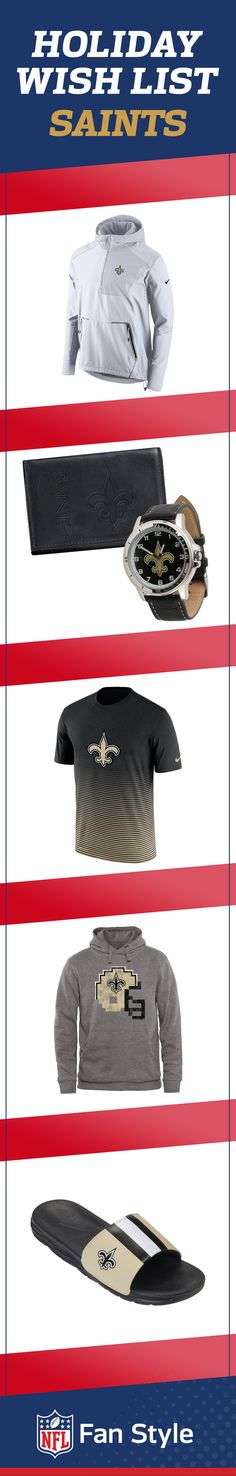 Pressed to purchase holiday presents? Impress your favorite New Orleans Saints fan with these gifts.