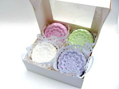 Floral Bath Fizzies Bath Bombs by BeeDazzling Gifts.  etsy.com/shop/BeeDazzlingGifts