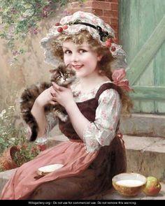 The Little Kittens by Emile Vernon.