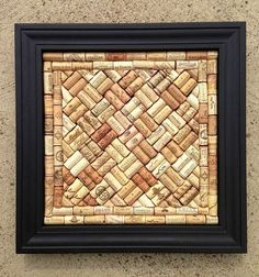To make your won cork board ideas is easy. In this article, you can make diy cork board for your home and corkboard for your home office Wine Craft, Wine Cork Crafts, Wine Bottle Crafts, Easy Diy Upcycling, Diy Cork, Wine Cork Art, Wine Cork Boards, Wine Cork Projects, Cork Bulletin Boards
