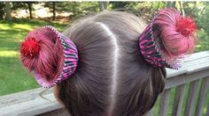 For Crazy Hair Day at school and church for the kids