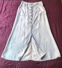 9dcb69eea Anthropologie Denim Maxi Skirt Size 0 #fashion #clothing #shoes  #accessories #womensclothing