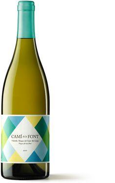 Packaging Camí de la Font #wine #label #packaging