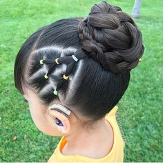 braid hairstyles for teens Round Faces Cute Little Girl Hairstyles, Girls Natural Hairstyles, Baby Girl Hairstyles, Kids Braided Hairstyles, Natural Hair Styles, Short Hair Styles, Toddler Hairstyles, Curly Girls, Picture Day Hair