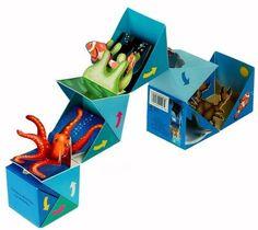 Children's Pop Up Books, New Books, Wooden Music Box, Self Promo, Book Format, Book Art, Paper Crafts, Ocean, Amazon