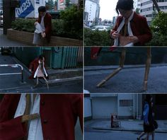Michel Gondry - Tokyo: Interior Design - Woman turning into a chair