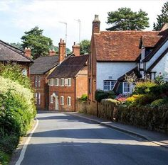 Shere Village, Surrey, England Surrey, Pond, Britain, England, Houses, Cabin, House Styles, Home Decor, Homes