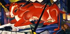 The World-Cow - Franz Marc - The Athenaeum