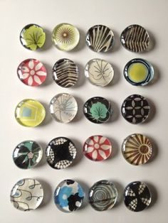 Deborah Velásquez: Feeling Crafty with Glass Magnets