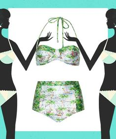 The Best Swimsuits For YOUR Shape  #refinery29  http://www.refinery29.com/affordable-swimsuits-by-body-type