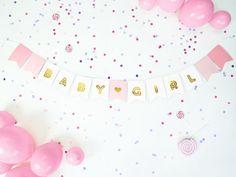 Bannets en ballonnen Baby Shower, Shower Ideas, Paper Balloon, Paper Plates, Diy, Toddler Girls, Baby Sprinkle, Baby Showers, Babyshower