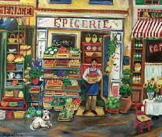 Je parle de mon quartier (Fle A2 vocabulaire des magasins et prépositions de lieu) - Le blog de frenchteacher