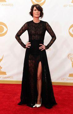 Lena Headey Emmy Nominees, Layered Skirt, Red Carpet Looks, Red Carpet Ready, Red Carpet Dresses, Red Carpet Fashion, Dresses 2013, Nice Dresses, Formal Dresses